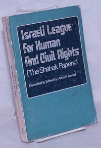 image of Israeli League for Human and Civil Rights, The Shahak papers
