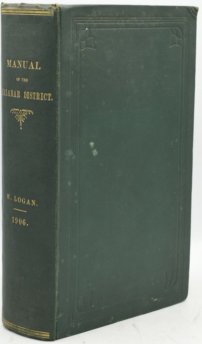 Madras: Superintendent, Government Press, 1906. Hard Cover. Very Good binding. A study on the Malaba...