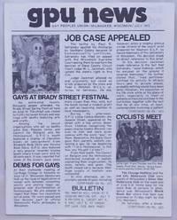 image of GPU News [vol. 2, #9] July 1973: Gays at Brady Street Festival