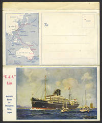 image of Shipboard Chinese food menu for the E.& A. Line, two days after 1929 Stock Market Crash, postcard