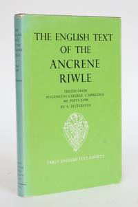 image of The English Text of the Ancrene Riwle, Edited from Magdalene College, Cambridge, Ms. Pepys 2498