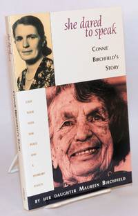image of She dared to speak, Connie Birchfield's story