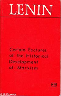 Certain Features of the Historical Development of Marxism
