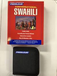 image of Swahili, Conversational: Learn to Speak and Understand Swahili with Pimsleur Language Programs: 16 Lessons