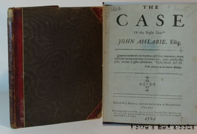 London: J. Roberts, 1721. All three speeches are bound within a late 19th century, 1/2 red leather a...