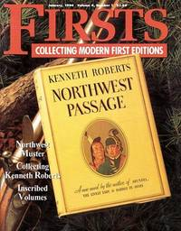 """image of Collecting Kenneth Roberts: As Featured in """"Firsts Magazine"""" January, 1994"""