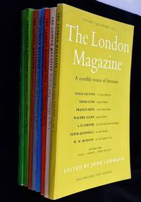 The London Magazine: a Monthly Review of Literature Vol 2 , Nos: 1, 3, 4, 6, 8, 10, 11, & 12 { 8 Volumes to Include Index to Vol  1 & 2 Loosely Laid in - as Called for }