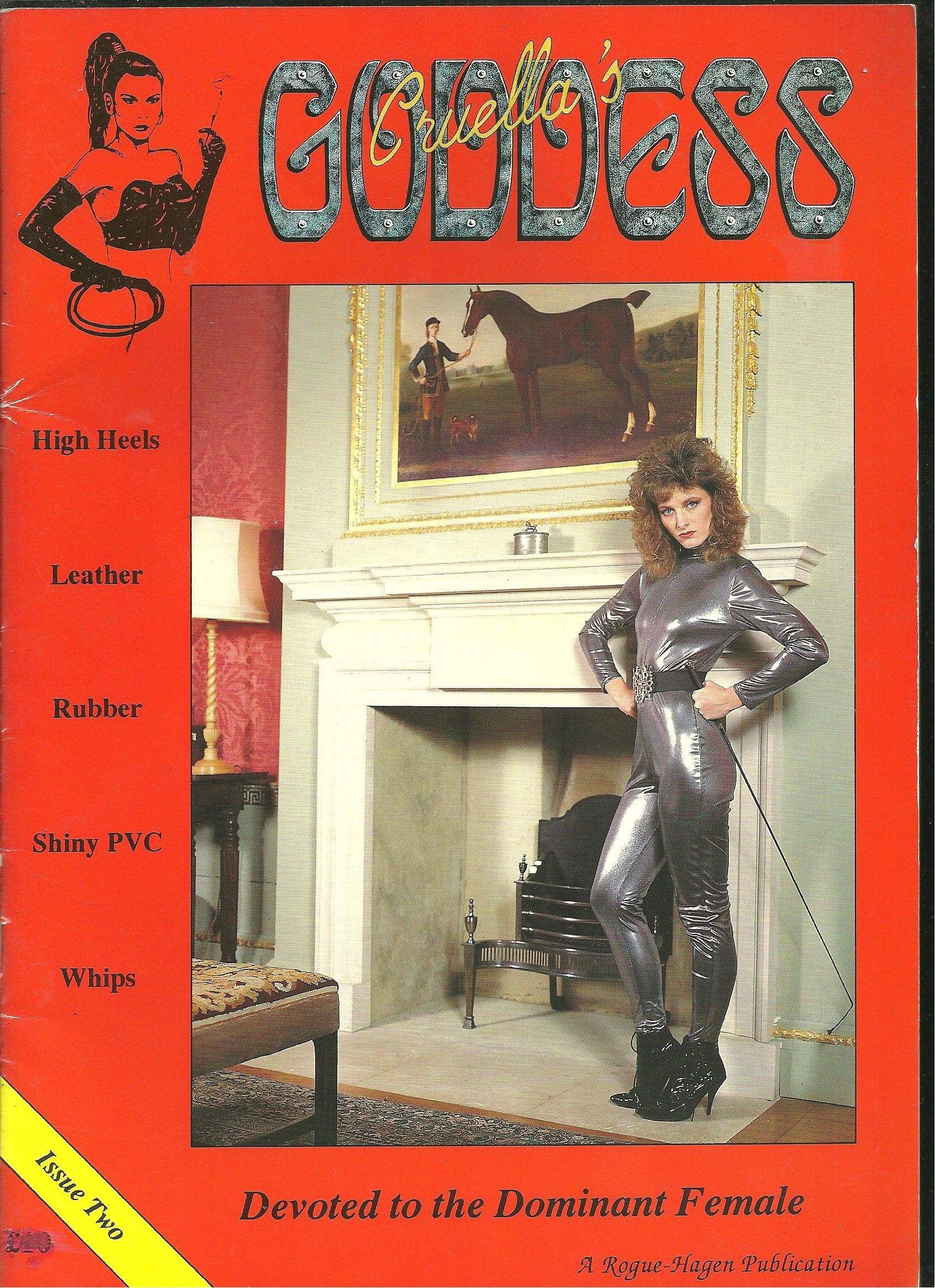 ladyjane_Cruellas Goddess Magazine : Devoted To The Dominant Female : Issue Two by Editor Lady ...