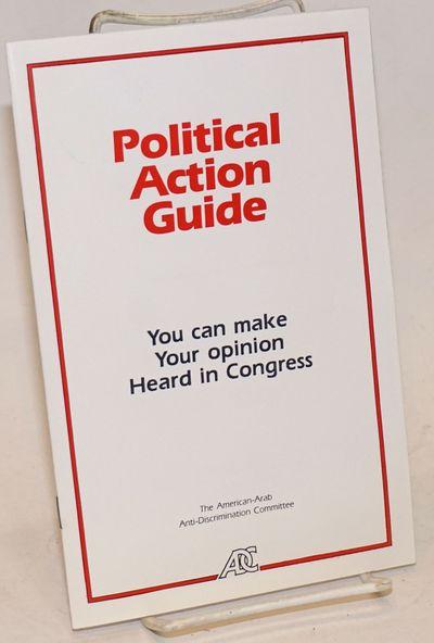 Washington: American-Arab Anti-Discrimination Committee, 1984. 16p., staplebound pamphlet, very good...
