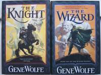 """The Wizard Knight:  book (1) one """"The Knight"""" book (2) two """"The Wizard""""  -complete two volume set of """"The Wizard Knight"""" -(in uniform dust jackets, hardcovers)-"""