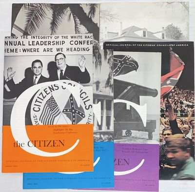 Jackson, MS: Citizens' Councils of America, 1964. Six issues of the slender digest-sized pro-segrega...