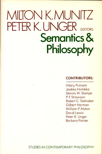 NY: NYU Press, 1980. Paperback. Very Good. 291pp. Wraps tanned, else very good and Internally fine w...