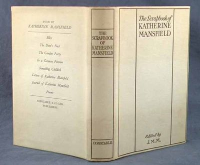 1940. FAE. MANSFIELD, Katherine. THE SCRAPBOOK OF KATHERINE MANSFIELD. Edited by J. M. M. London: Co...