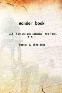 wonder book [Hardcover]