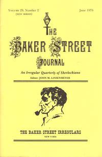 image of THE BAKER STREET JOURNAL ~ An Irregular Quarterly Of Sherlockiana ~ JUNE 1979