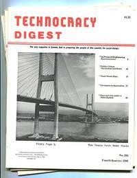 Technocracy Digest (Three Issues) (Nos. 282, 283, 287 -- 4th Quarter 1986; 1st Quarter 1987; 1st Quarter 1988)