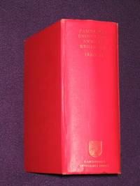 The Annual Register of the University of Cambridge for the Year 1960-61