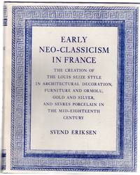 Early Neo-Classicism in France