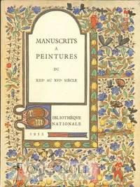 Paris: Bibliothèque Nationale, 1955. stiff paper wrappers. Illuminated Manuscripts. 8vo. stiff pape...