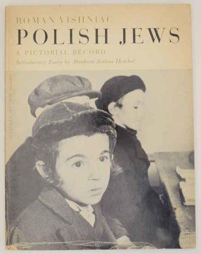 New York: Schocken Books, 1972. First edition thus. Softcover. Vishniac's survey of the Jewish commu...