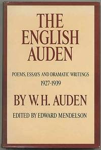 9780571115020 - The English Auden Poems, Essays and Dramatic Writings, 1927-1939 by W. H. Auden