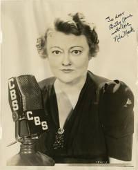 image of Original Photograph of Nila Mack inscribed to Betty Jane Tyler