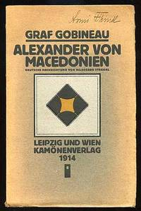 Leipzig & Wien: Kamonenverlag, 1914. Softcover. Fine. Reprint. Text in German, translated from the F...