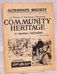 Alternate Society: vol. 3, no. 6, August-September 1971