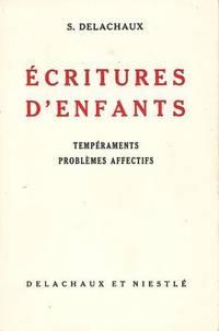 Ecritures d'enfants Tempéraments Problèmes affectifs
