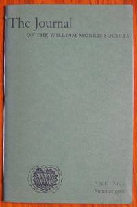 image of The Journal of the William Morris Society Volume II Number 2 Summer 1968