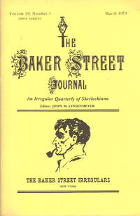 image of THE BAKER STREET JOURNAL ~ An Irregular Quarterly Of Sherlockiana ~ March 1979