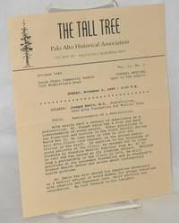 image of The Tall Tree: Palo Alto Historical Association [newsletter] vol. 13, #2, October 1989