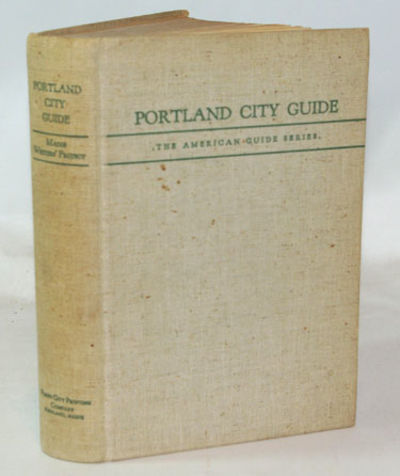 Portland: State Department of Education, 1940. First Edition. Very good+ in heavy off white buckram ...