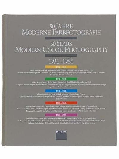 The Netherlands: Photokina, 1986. First Edition. Large Hardcover. Near Fine/No Jacket. First edition...