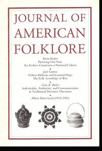 Journal of American Folklore (Vol 105, No 415, Winter 1992)