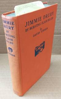 BY BURSTING FLASH BULBS (A JIMMIE DRURY MYSTERY) [INSCRIBED]