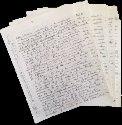 Albert Sabin Handwritten 16 Page...
