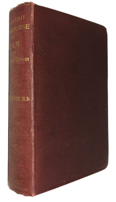 London: Kegan Paul, Trench, Trubner, & Co, 1890. Hardcover. Good. folding map, index, xiii, 503p. Or...