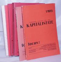 image of Kapitalistate: complete run working papers on the capitalist state, Nos. 1, 2, 4/5, 7, 8, 9 [seven nos. in eight fastenings]