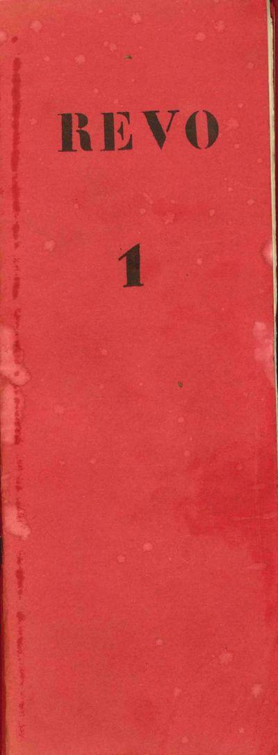 Brussels: self-published, 1966-1967. Slim quartos (). Original staple-stitched red decorative wrappe...