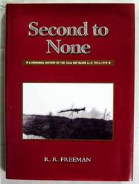 Second to None.  A memorial history of the 32nd Battalion A.I.F. 1915-1919