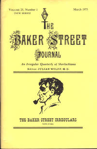 image of THE BAKER STREET JOURNAL ~ An Irregular Quarterly of Sherlockiana ~ March 1975