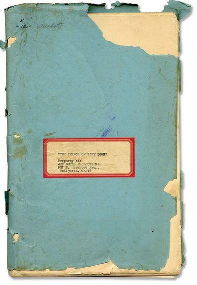 Hollywood: Jed Buell Productions / Columbia Pictures, 1938. Draft script for the 1938 film. Copy bel...