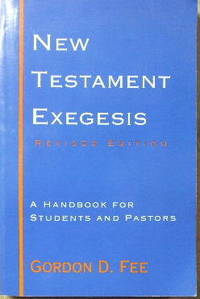 image of New Testament Exegesis