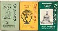 Books on the Orient [Three catalogs from the Paragon Book Gallery: nos. 19, 27 and 28]