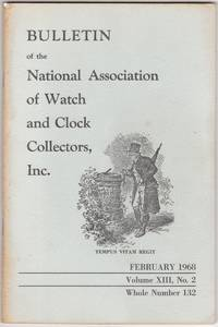 image of February 1968 Issue of the Watch and Clock Collectors Magazine, NAWCC