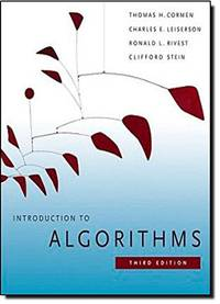 image of Introduction to Algorithms, 3rd Edition (MIT Press)