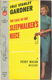 image of The Case of the Sleepwalker's Niece (Vintage Paperback, inscribed by Gardner to