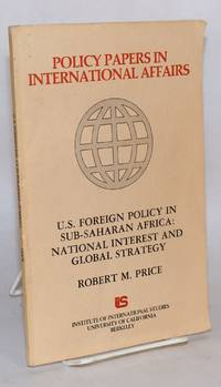 image of U.S. foreign policy in Sub-Saharan Africa: national interest and global strategy