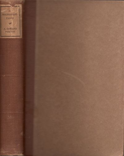 Boston: Little Brown and Co, 1928. Fourth printing. Hardcover. Good. Octavo. Hardcover. Brown paper ...